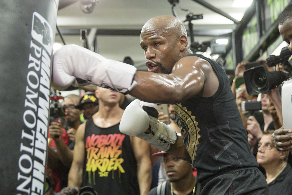 Floyd Mayweather Workout