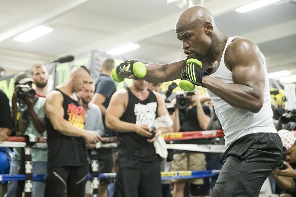 Floyd Mayweather Workout